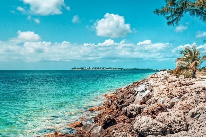 View of Key West in Florida