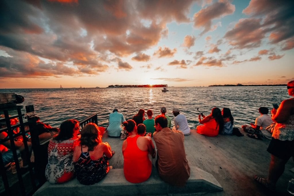 Sunset Celebrations in Mallory Square