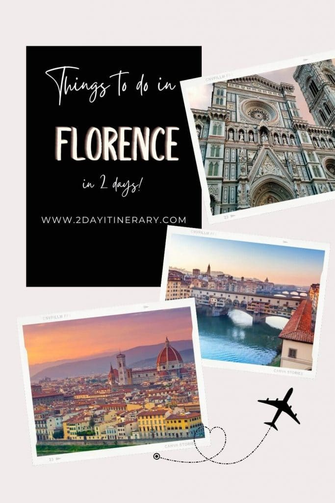 Click to read this epic 2 days in Florence itinerary, and check off the iconic Duomo, medieval squares, Arno River and the bridges plus gelato. Florence things to do in 2 days. Florence Italy travel guide