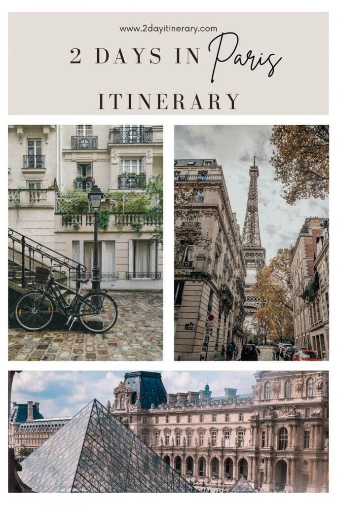 Click to read the perfect 2 days in Paris itinerary for an epic getaway. This guide is great all year round, with packing & travel tips.