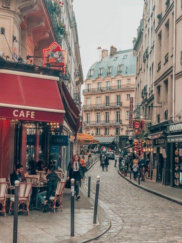 Latin Quarter Lanes in Paris