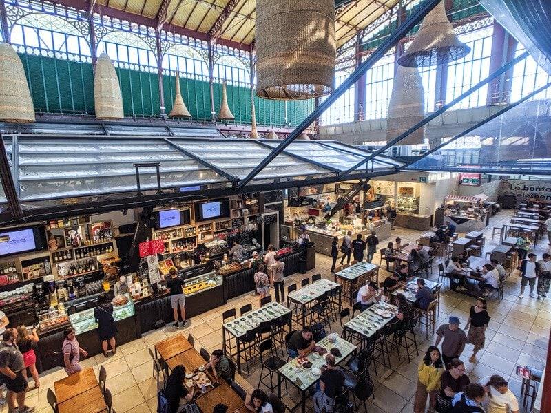 Inside Mercato Centrale