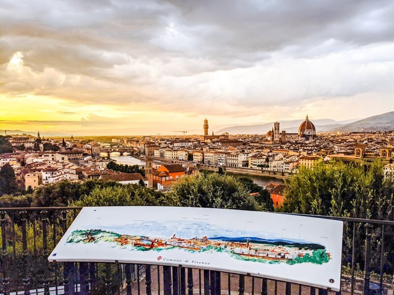 Trek to Piazzale Michelangelo for views of Florence