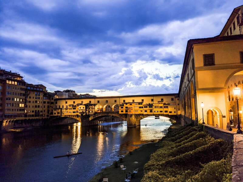 The Ponte Vecchio is one of the most photographed sights in Florence