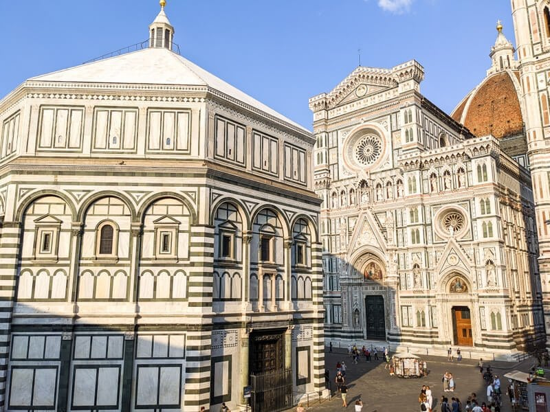 View of Duomo in 2 days in Florence itinerary